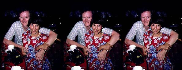 1989 David Hutchison with Susan Pinsky N