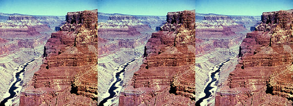 G-2 Grand Canyon AZ Muddy Colorado in th
