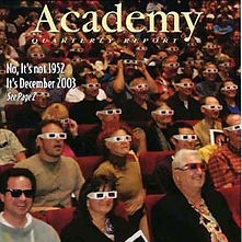 2003 Academy 3D Covershot by David Stark