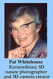 3-D Legends Hall of Fame Pat Whitehouse