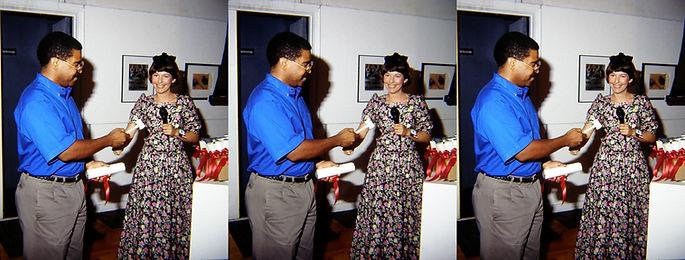 Mitchell Walker 1993-94 receiving Cert f