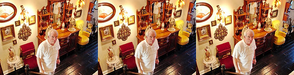 2007  Mike Kessler in his dining room fr