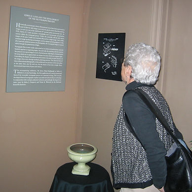 2003 Vivian Walworth looking at the Vect