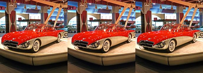 197 Car Show 1956 Motorama GM Pan Pacifi