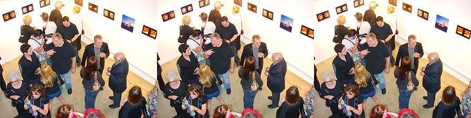 2009 Jack Laxer exhibit downtown LA Aug