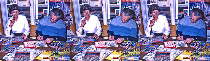 1983_Roz_and_Jack_Kirby_at_Battle_3-D_co