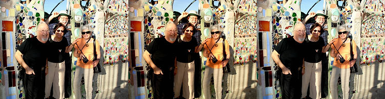 2007 Watts Towers with Irv Pinsky, Madel