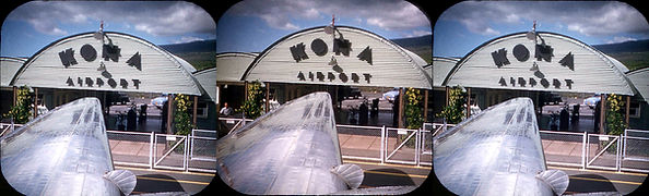 Kona Hawaii airport by Gordon Smith 1950
