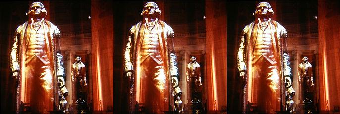 1985 Jefferson Memorial multiexposure by