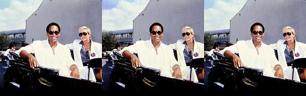 1986 O.J. and Nicole Simpson Sept 19 at