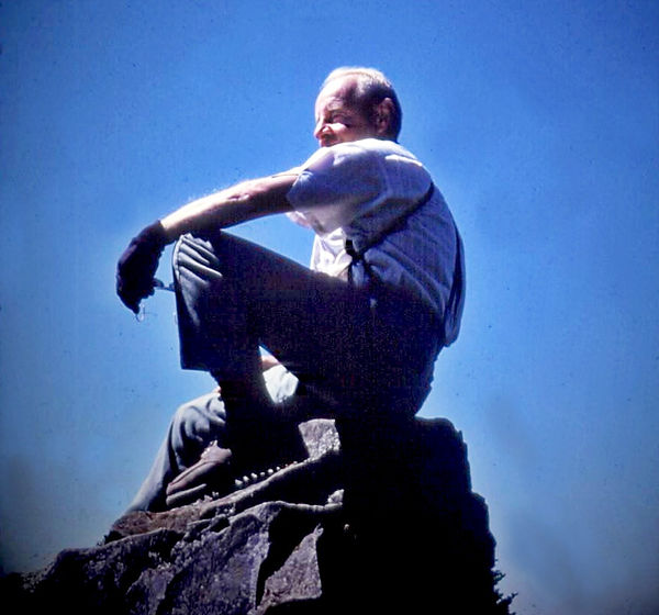 William Gruber on a rock.jpg
