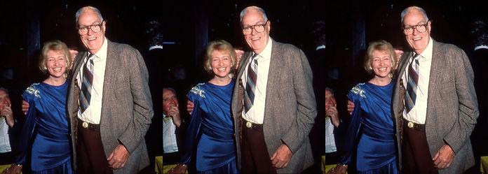 1991 Paris France Judy Fentress and Paul