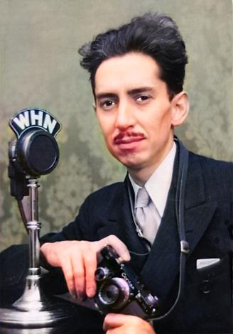 1935 Herbert C McKay with 35mm Contax ca