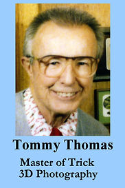 3-D Legends Hall of Fame Tommy Thomas 4x
