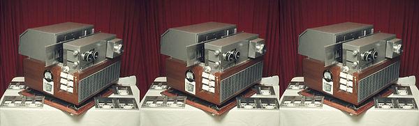 1971 HdW-3 projectie apparatuur  grote s