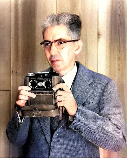 1952 Herbert C McKay taken at home in Eu