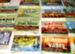 2011 George Mann viewer header signs by