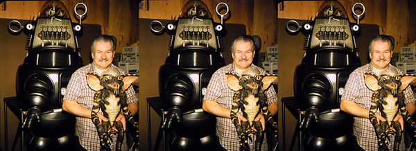 Bob Burns & Robby the Robot C by David H