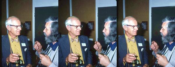 1978 ISU York UK Charlie Piper with anot