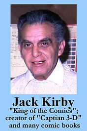 3-D Legends Hall of Fame Jack Kirby - bl