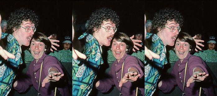 1982 Weird Al Yankovic and Susan Pinsky