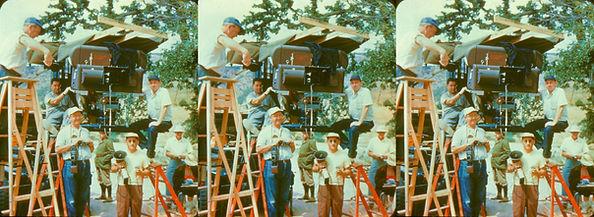 1951 Bwana Devil camera, crew and Arch O