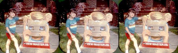 Michael Aronowitz age 6  w VM viewer-SBS