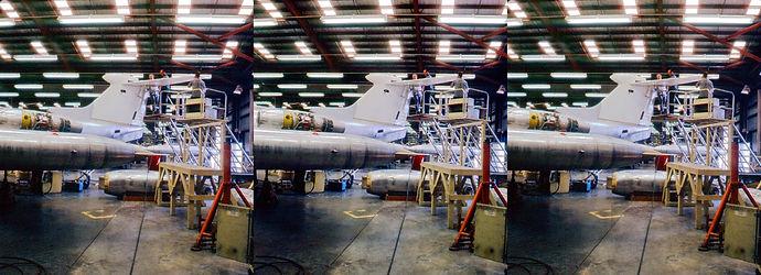 1964 Lear Jet factory Santa Monica by Ge