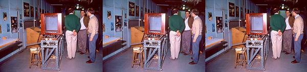 1991_05_07 Bonnet Lab in Paris by Susan