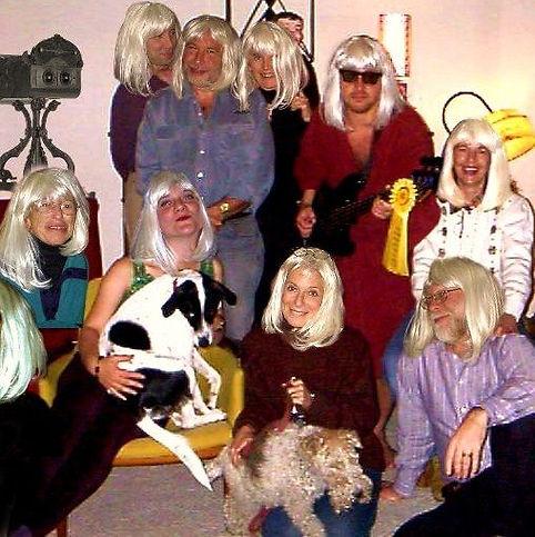 2002 Everyone wearing Jan Burandt's birt