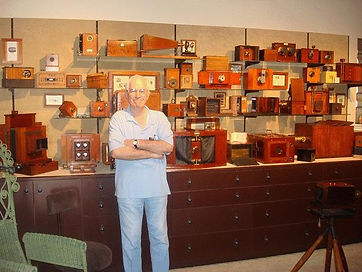 2010  Mike Kessler with his collection M
