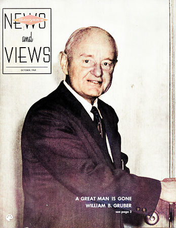 1965 News and Views cover with William B