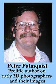 3-D Legends Hall of Fame Peter Palmquist