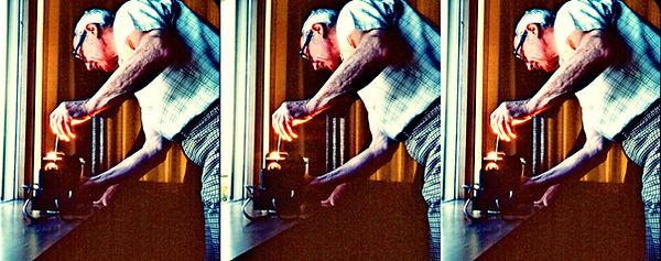 1978 Karl Kurz working on View-Master pr