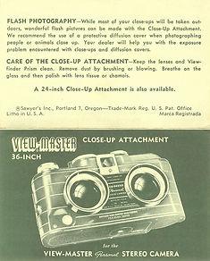 VM Personal 36 inch Close-Up Attachment