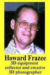 3-D Legends Hall of Fame Howard Frazee -