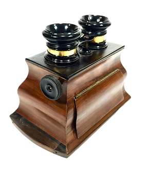 antique-wooden-stereo-viewer-stereoscope