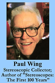 3-D Legends Hall of Fame Paul Wing 4x6 w