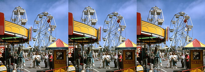 1963 Beverly Hills Carnival, The Pike by