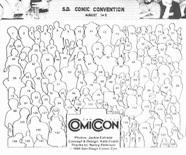 1985 San Diego Comic Convention ComiCon poster Key to people attending_hi_resai.jpg