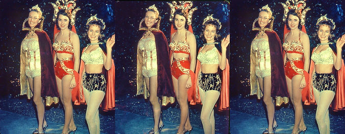 1958 Pasadena CA Rose Parade by George M