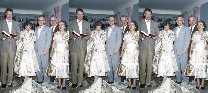 Jean & Charlie Piper & Mr & Mrs Rosselot