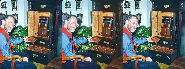 1992 David Starkman looking into Mike Ke