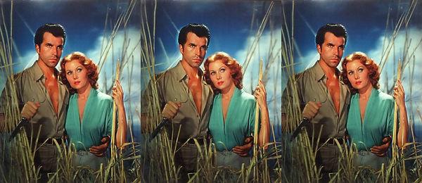 1954 Jivaro film with Fernando Lamas & R