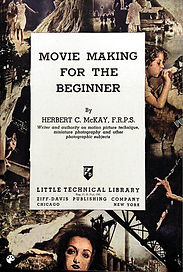 1939 Movie Making for the Beginner book
