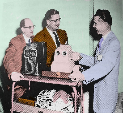 1953 Charley van Pelt with his pals and
