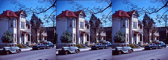 1960 Bunker Hill downtown Los Angeles by