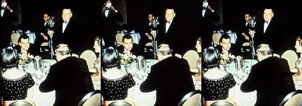 Vice-President & Mrs Nixon at inaugural dinner.jpg