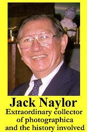 3-D Legends Hall of Fame Jack Naylor 4x6