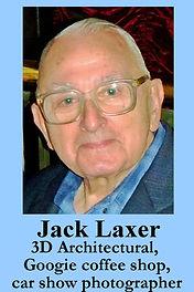 3-D Legends Hall of Fame Jack Laxer 4x6